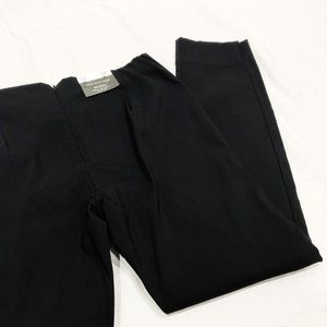 NWT WHO WHAT WEAR Black Skinny Mid Rise Crop Pants
